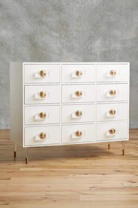 Anthropologie Lacquered Regency Twelve-Drawer Dresser