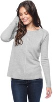 Splendid Cashmere Blend Saddle Pullover
