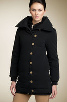 'Avalon' Canvas Down Puffer Coat