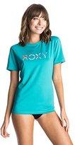 Roxy Women's Palms Away Short-Sleeve Rash Guard
