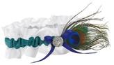 Hortense B. Hewitt Peacock Plume Wedding Collection Garter