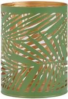 Very Amazonia Large Green Palm Tea Light Holder