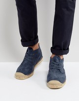 Selected Homme Hajo Suede Chukka Espadrilles