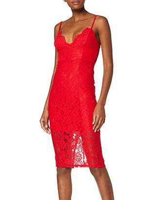 New Look Women's Scallop Lace Dress,6 (Manufacturer Size:6)