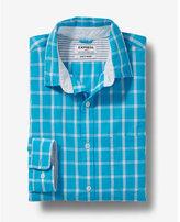 Express soft wash check shirt