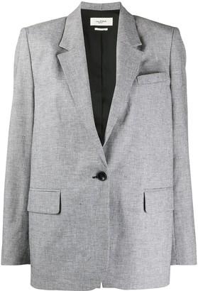 Etoile Isabel Marant Verix micro-check blazer