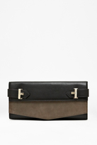 Reyna Leather Clutch