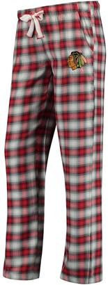 Women's Concepts Sport Red/Black Chicago Blackhawks Forge Pajama Pants