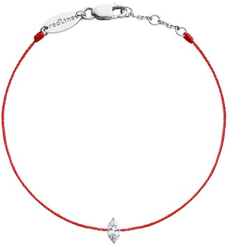 Redline Marquis Diamond Bracelet- Red