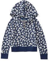 Ralph Lauren Floral Jersey Full-Zip Hoodie
