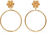 Dolce & Gabbana Gold-tone Clip Earrings - one size