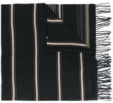 Dondup - ethnic pattern fringed scarf - men - Viscose - One Size
