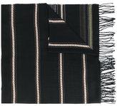 Dondup ethnic pattern fringed scarf