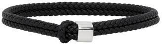 Bottega Veneta Navy Braided Bracelet