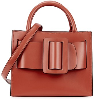 Boyy Bobby 23 Red Leather Top Handle Bag