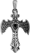 Summit Angel Winged Cross Pendant Jewelry Accessory Necklace Medallion Art