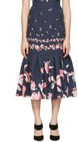 Erdem Navy Abbie Skirt