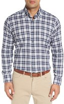 Peter Millar Men's 'Glacier Check' Regular Fit Plaid Short Shirt