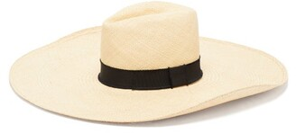 Lafayette House Of Brandi Wide-brim Straw Hat - Womens - Natural
