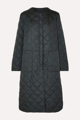 Max Mara The Cube Quilted Shell Down Coat - Dark green