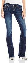 Miss Me Junior's Faux Pocket Embellished Denim Jean