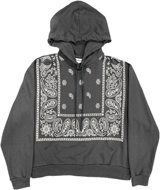 PROFOUND Men's Bandana Paisley Print Pullover Hoodie