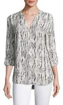 Soft Joie Dane Graphic Printed Blouse