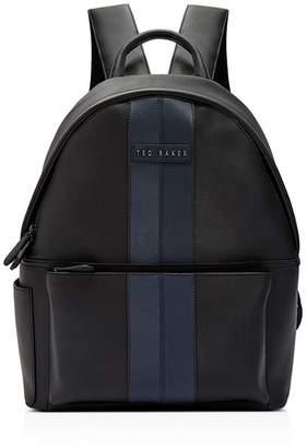 Ted Baker Popp Twill Pu Backpack