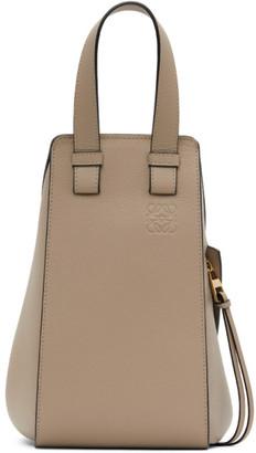 Loewe Taupe Small Hammock Bag