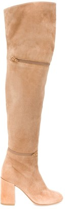 MM6 MAISON MARGIELA Thigh High Boots