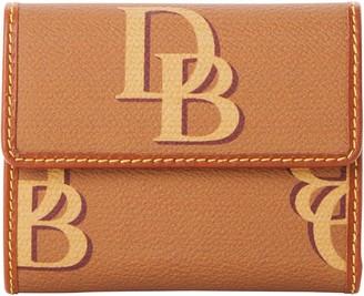 Dooney & Bourke Monogram Small Flap Wallet
