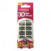 1000 Hour 3D Nail Wraps Sophia 1 Kit