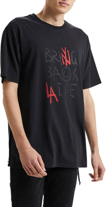 Ksubi Men's It's Back Biggie Typographic T-Shirt