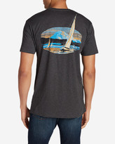 Eddie Bauer Men's Graphic T-Shirt - Sailing Adventures