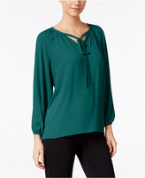 Catherine Malandrino Catherine Regan Peasant Blouse, Only at Macy's