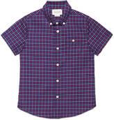 Gucci Children's check cotton shirt
