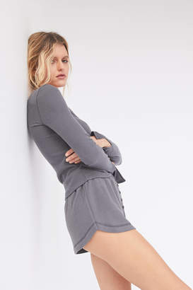 Out From Under Stay In Button-Front Dolphin Short