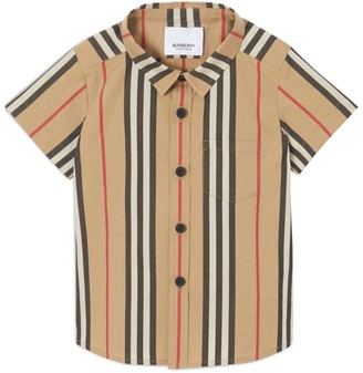 Burberry Kids Stripe Print Shirt