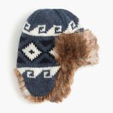 J.Crew Kids' Fair Isle trapper hat