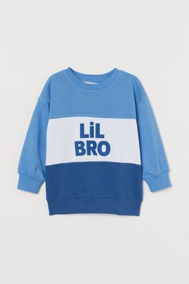 H&M Sibling Sweatshirt - Blue