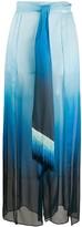 Jonathan Simkhai ombre palazzo trousers
