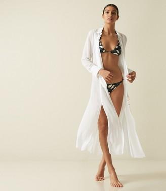 Reiss Cherish - Resort Shirt Dress in White
