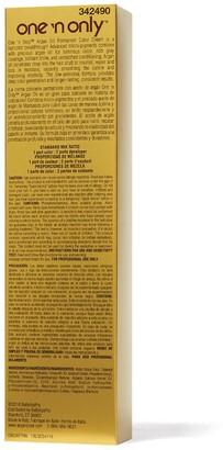 N. One 'N Only 387 7NN Rich Natural Medium Blonde Argan Oil Permanent Hair Color
