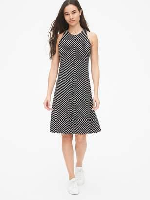Gap Stripe Twist-Back Tank Dress