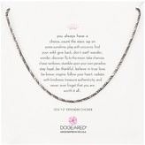 Dogeared Sparkle Choker Necklace, 12""