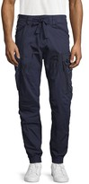 G Star Raw Cotton-Blend Trainer Pants