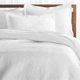 Crate & Barrel Celeste White Duvet Covers and Pillow Shams