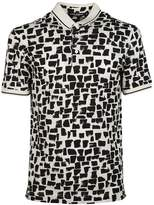 Dolce & Gabbana Abstract Pattern Polo Shirt