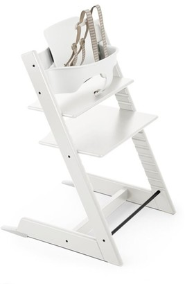 Stokke Tripp Trapp Adjustable Grow with Baby High Chair White