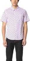 Stussy Short Sleeve Mini Paisley Shirt